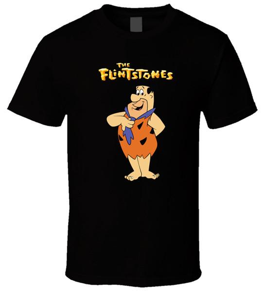 Flintstones 5 Черная Футболка