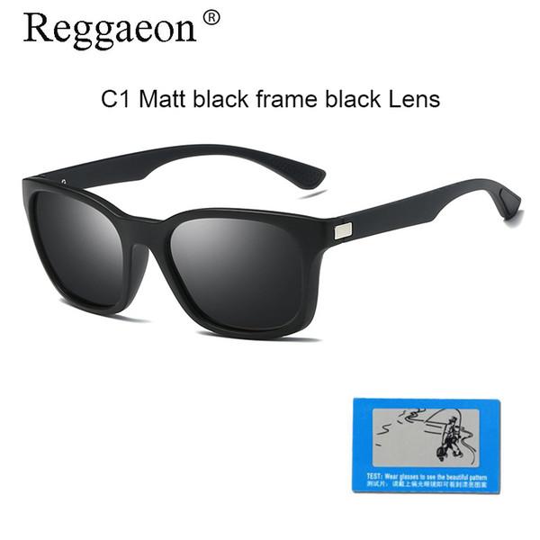 Fashion HD Polarized Sunglasses Men Brand Designer Square Frame Sunglasses Outdoor Driving UV400 Protection women Sun Glasses