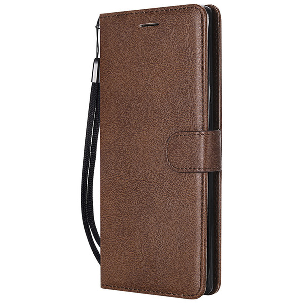 Wallet Case For Samsung Galaxy Note 9 Flip back Cover Pure Color PU Leather Mobile Phone Bags Coque Fundas For Galaxy Note9