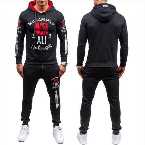 Nouveau Fitness Hommes Vêtements de sport Sweat Armée Camo Costume Set long pantalon de sport d'hommes Designer Survêtement Livraison gratuite
