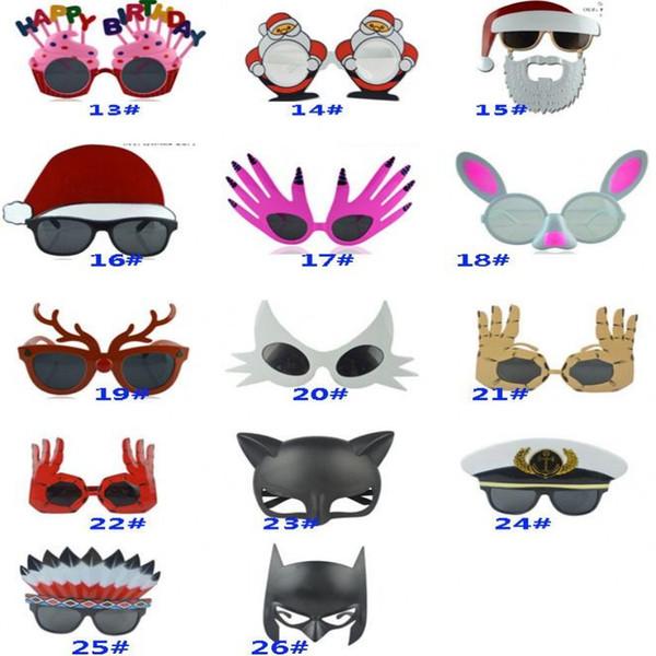 Gafas de sol creativas de Halloween Cara Calabaza Dinero Mujeres Sexy Wacky Gafas Cumpleaños Fiesta de Navidad Decoración broma Juguetes