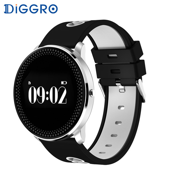 Diggro CF007 Smart Heart rate Bracelet Blood Pressure Blood Oxygen Monitor Multi-sport Mode Sleeping Monitor for Android IOS