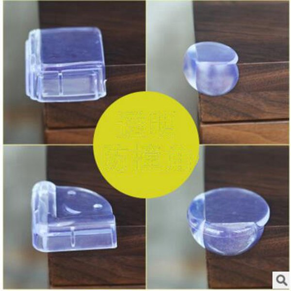 best selling Baby Bed Corner Protector Silicone Anti-collision Corner Cushion Table Edge Safety Protection Cover Baby Safety Products 4 Styles YL58
