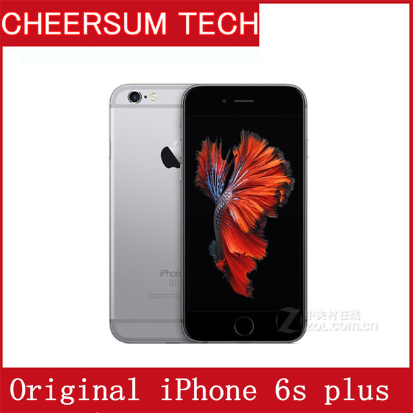 Original refurbi hed apple iphone 6 plu without touch id dual core 2gb ram 16gb 64gb 128gb rom 12mp camera cell phone