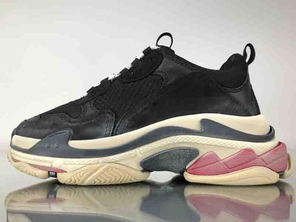 Scarpe Running Uomo Balenciaga SNEAKER TESS S GOMMA Os Scarpe Da Rappresentanza Atletica Più Trendy Top Quality New Color Triple S Sneakers Uomo