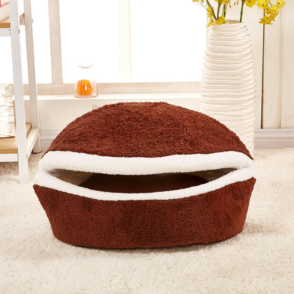 High quality dog houses for small dogs pet supplies luxurious sleeping bag fabric product cats and little winter dog beds
