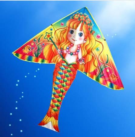 Outdoor Fun & Sports DIY Kite Painting Kite Accessories without Handle Line Papalote Classic Toy Fly a Kite Flying Outdoor Toys