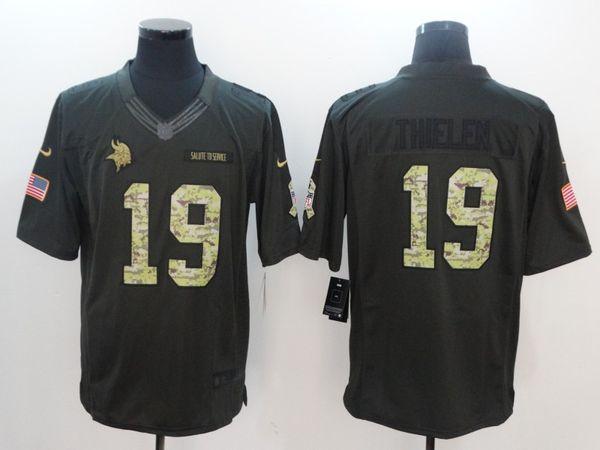 hot sale online 056ff 9058e 2019 Adam Thielen Jersey Randy Moss Everson Griffen Vikings Minnesota Camo  Customized Sports Game Elite America Football Jerseys Stitched Shirts From  ...