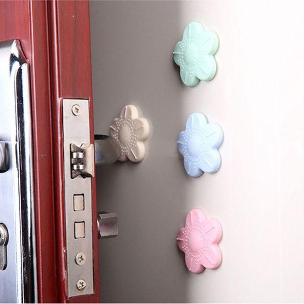 1pcs Silicone Door Handle Knob Crash Pad Wall Protectors Self Adhesive Bumper Guard Stopper Rubber Anti Collision Stop Stick