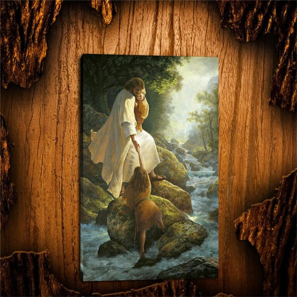 Jesus Christ Lds Greg Olsen -1,1 Pieces Canvas Prints Wall Art Oil Painting Home Decor (Unframed/Framed)
