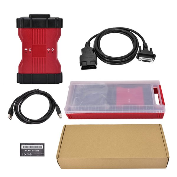VCM2 VCM II 2 in 1 Diagnostic Tool VCM 2 for Ford and Mazda IDS V106 by DHL Free Shipping