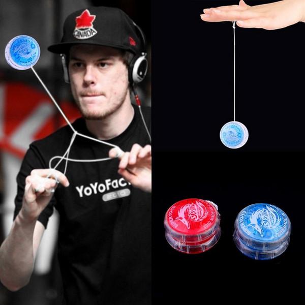 Оптовая 15 шт магия Йойо мяч игрушки для детей красочные пластиковые легко носить с собой йо-йо Party Boy классический смешной подарок