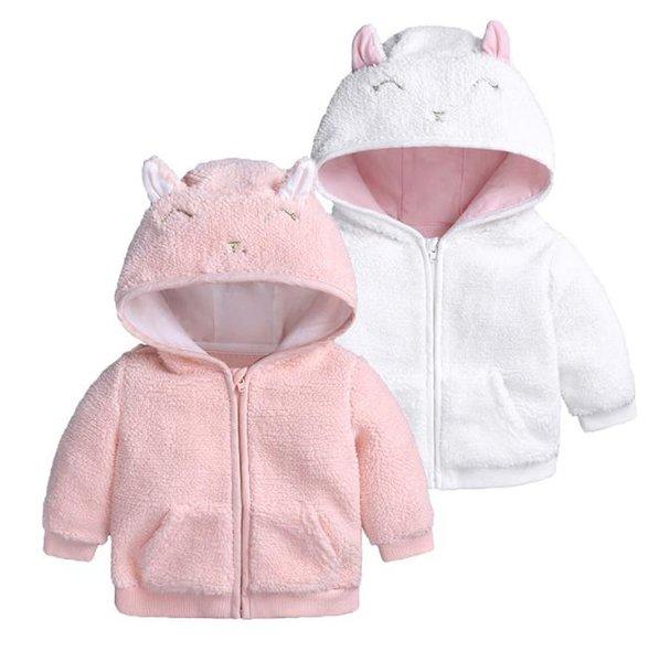 Kinderjacken für Jungen und Mädchen Herbst und Winter Oberbekleidung Lamm Samt Kleidung Mäntel mit Kapuze für Kleidung für Kinder warme Kleidung