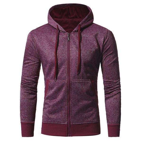 Street Men Hoodie Plus Size Casual Tracksuit Zipper 2018 Hoodies Fashion Punk Rock Sportswear Hip Hop Cool Autumn Hooded Tops