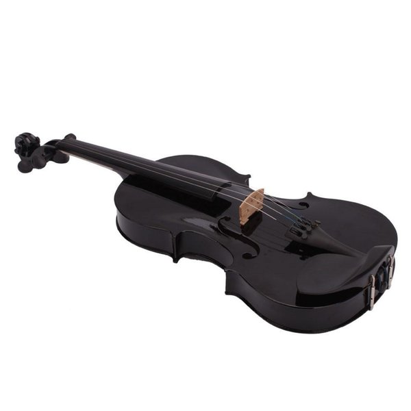 2019 4/4 Full Size Acoustic Violin Fiddle Black With Case Bow Rosin From  Great89, $106 53 | DHgate Com
