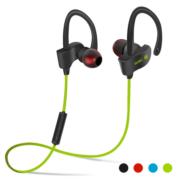 New Items 56S Wireless Bluetooth Headphones Waterproof IPX5 Headphone Sport Running Headset Stereo Bass Earbuds Handsfree With Mic