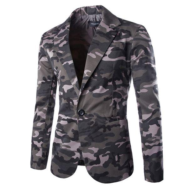 Feitong 2018 Mantel Männer Mode Herren Herbst Winter Strickjacke Camouflage Jacke Langarm Mantel Top Heißer verkauf