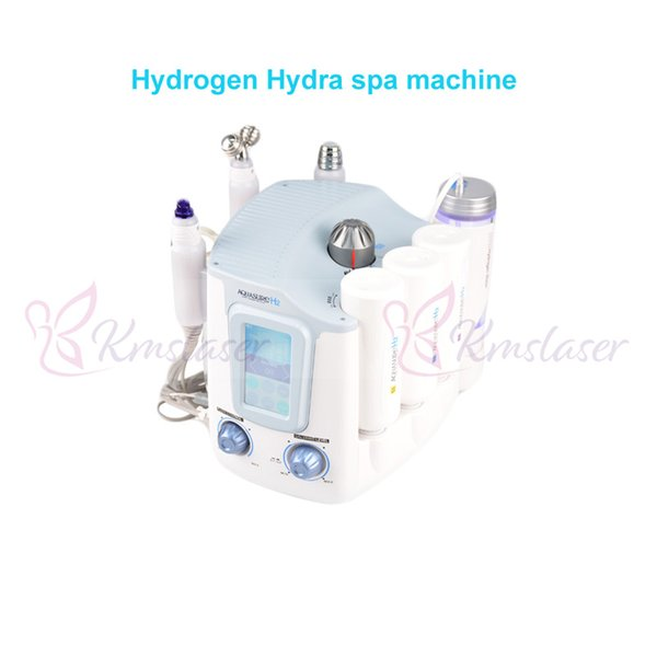 3 in 1 hydra facial hydro dermabrasion micro current Hydrogen Hydra galvanic wrinkle removal spa beauty machine