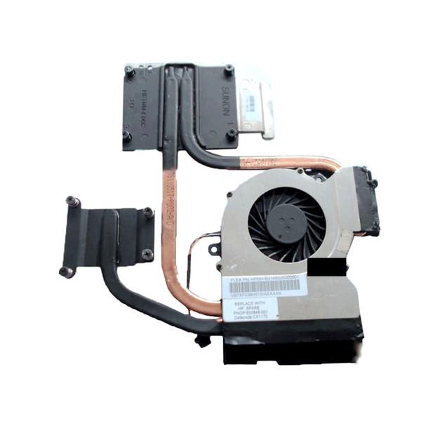 CPU Cooler for HP Pavilion DV6-6000 dv6 DV7-6000 DV7 Laptop cpu DSC Cooling Heatsink with fan 650848-001