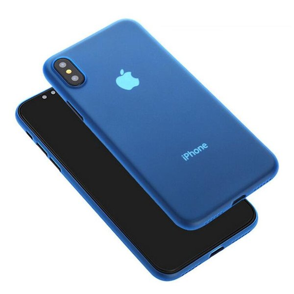 For iPhone XS Max XR Ultrathin Translucent Grind Phone Case Against Falling Silicone Protective Cover For iPhone X 6 7 8 Plus