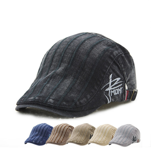 6 Colors Embroidery Stripe Baseball Caps Snapbacks Casquette Designer Hat Dad Hat Bucket Fitted Hat Brand Hats