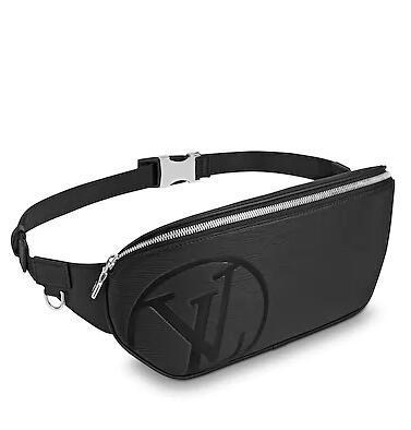 M53300 BUMBAG FASHION BLACK BELT BAG MEN Real Caviar Lambskin Le Boy Chain Flap Bag HANDBAGS SHOULDER MESSENGER BAGS TOTES