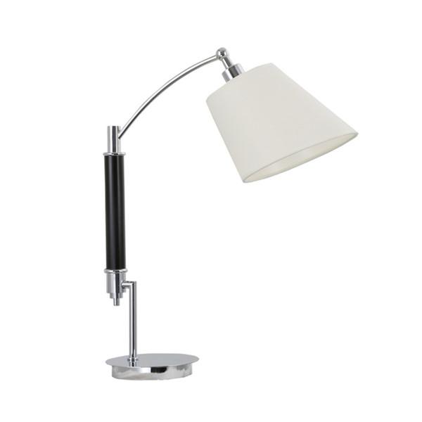 Modern simple elegant fabric table lamp desk lamps EU plug E14 bulb for bedroom study room hotel