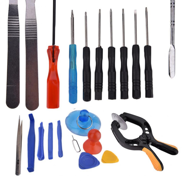 VBESTLIFE Mobile Phone Repair Kit 22 in 1 Cell Phone Screen Opening Tool Kit Set Pry Screwdriver Repair Kit For Cell phone