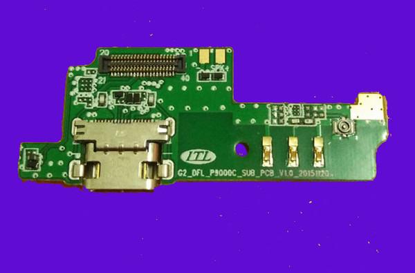 Ursprüngliche elephone-Gebührensockel kleine Platte + Mikrofon für Elephone P9000 Lite 5.5inch Android MTK6755 Octa Core-freies Verschiffen