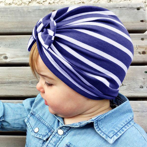 7 colors Baby Kids girls hair bows hat newborn crochet beanie hats Head Wraps Infant Kids India Hats Children hat