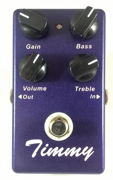 Clone Timy Overdrive -Guitar Effect Pedal Overdrive And True Bypass