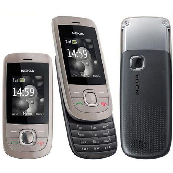Refurbished Original Nokia 2220S 2220 Slide Unlocked GSM 2G Network Mobile Phone 1.8 inch Screen Mp3 Player Free Post 1pcs