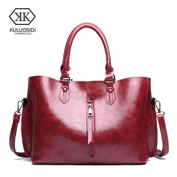 KULUOSIDI Borse di lusso Borse donna composito Designer Grande capacità Casual Tote Bag Borsa a tracolla Messenger Soild per la femmina