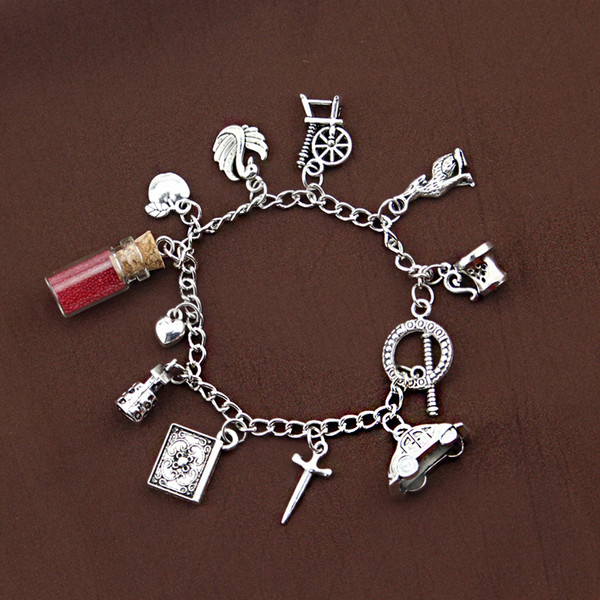 6f89223ad Once Upon a Time charm bracelets including Once Upon a Time Magic  Storybrooke Enchanted Forest Emma