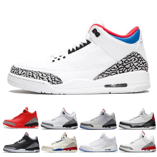 Mens Korea city of flight Fire Red JTH Tinker Grateful Black Cement basketball shoes men QS Katrina Outdoor Sport Shoes Sneakers