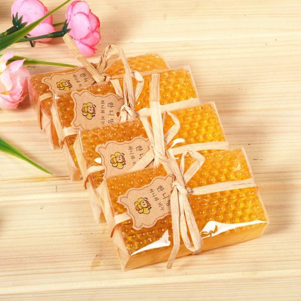 Handmade Propolis Honey bee soap natural skin cleansing wash Hair Acne Treatment Remove Whelk Shrink Pore Face Care
