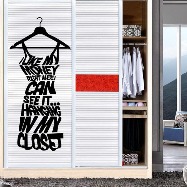 Clothes Tree Wall Stickers Wardrobe Decorations Diy Dress Home Decals Vinyl Art Room Mural Posters Adesivos De Paredes