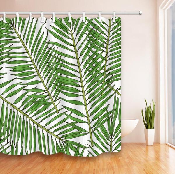 Hot-seller chinês cortina de chuveiro vento, cortina de chuveiro de impressão digital, poliéster cortina impermeável, design criativo, sh bambu paisagem