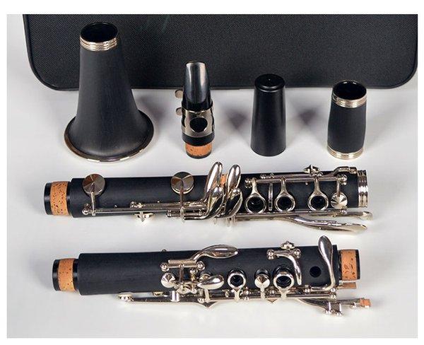 17 ключ B кларнет кларнет bB западные инструменты никелированные ABS смолы