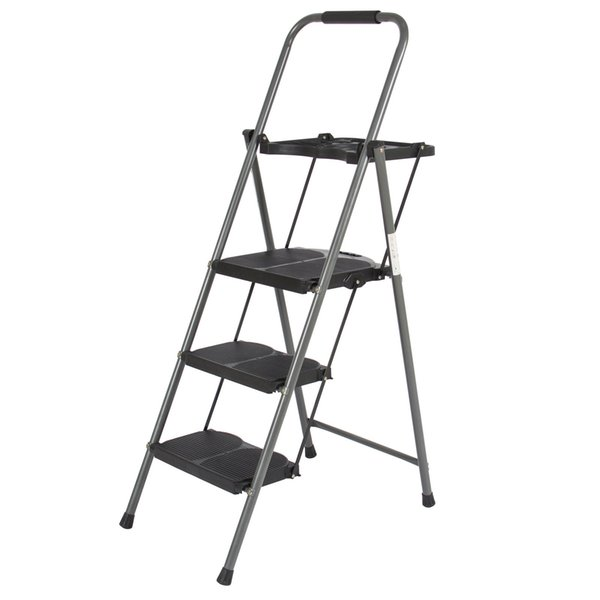 Excellent 2017 Bcp 3 Step Ladder Lightweight Folding Stool 330 Lbs Cap Space Saving W Tray From Hongxinlin21 49 19 Dhgate Com Pabps2019 Chair Design Images Pabps2019Com