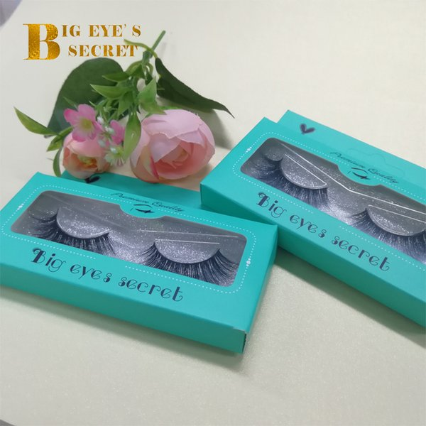 Luxury 10 Pairs Mink Strip Lashes Customize boxes Mink Lashes Sexy 100% Handmade 3D Mink Eyelashes Extension