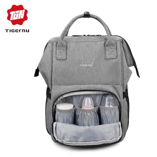 2019 FashionTigernu Mommy diaper bag large capacity baby nappy bags nursing bag fashion travel Women backpack bag for mom dad