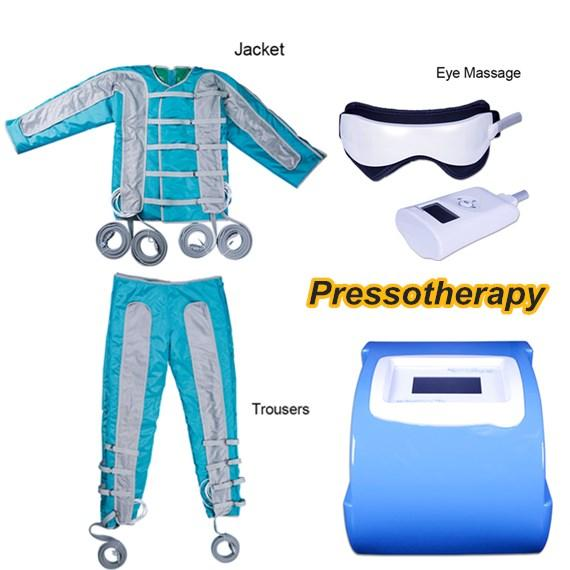 pressotherapy face body slimming infrared blankets pressotherapy lymphatic massage machines 24 Air Bags EMS Electric Muscle Stimulation