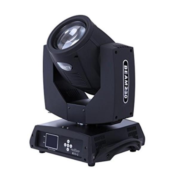 Stage Lighting Beam Spot Light 230W Moving Head DMX512 Osram 7R Lamp Bulb 16CH 14Colors Gobo for Disco Club DJ Xmas Christmas Birthday Home