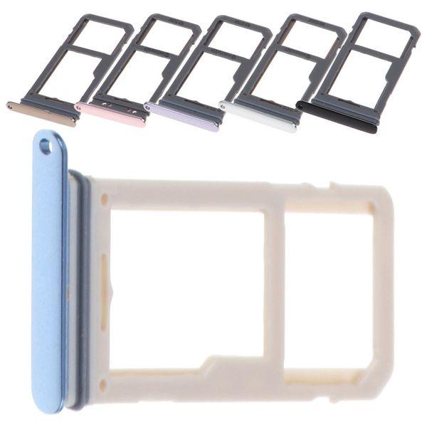 Para Samsung Galaxy S8 / S8 Plus G950 G955 Nueva tarjeta Sim Bandeja de tarjeta SD Adaptador de ranura para tarjeta SD