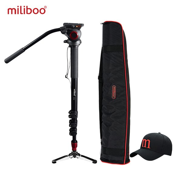 "wholesale MTT705A Aluminum Portable Fluid Head Camera Monopod for Camcorder /DSLR Stand Professional Video Tripod 72""Max Height"