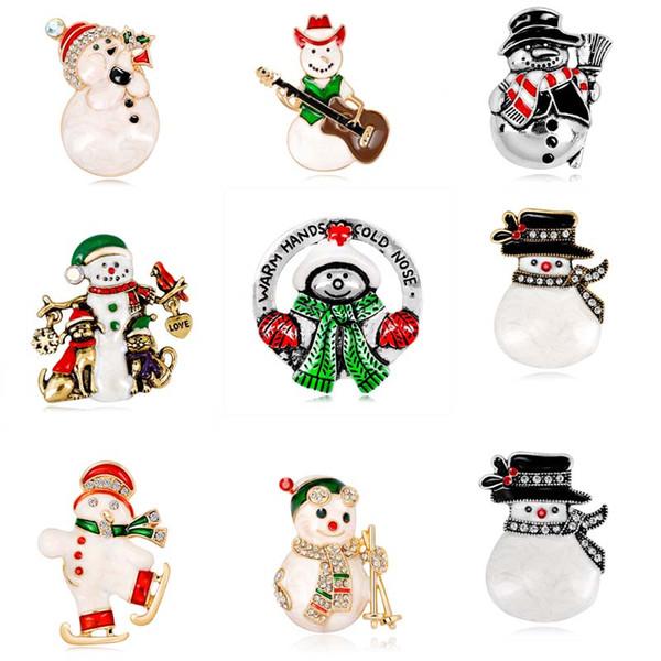 Compre 9 Escolha Boneco De Neve Bonito Dos Desenhos Animados
