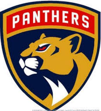 Florida Panthers front chest big size Team Logo Embroidered Patch Approximately size 10 inch * 10 inch