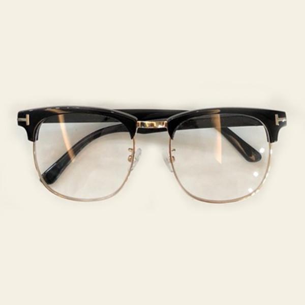 676ee29586 Alloy Optical Glasses Frame For Men 2018 Half Vintage Round Eyeglasses For  People Women New Prescription Spectacles Eyewear