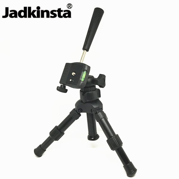 Jadkinsta Low Angle Macro Shooting Camera Tripod Lightweight DSLR Mini Tripod Universal Portable Monopod Close-up Photo Stand
